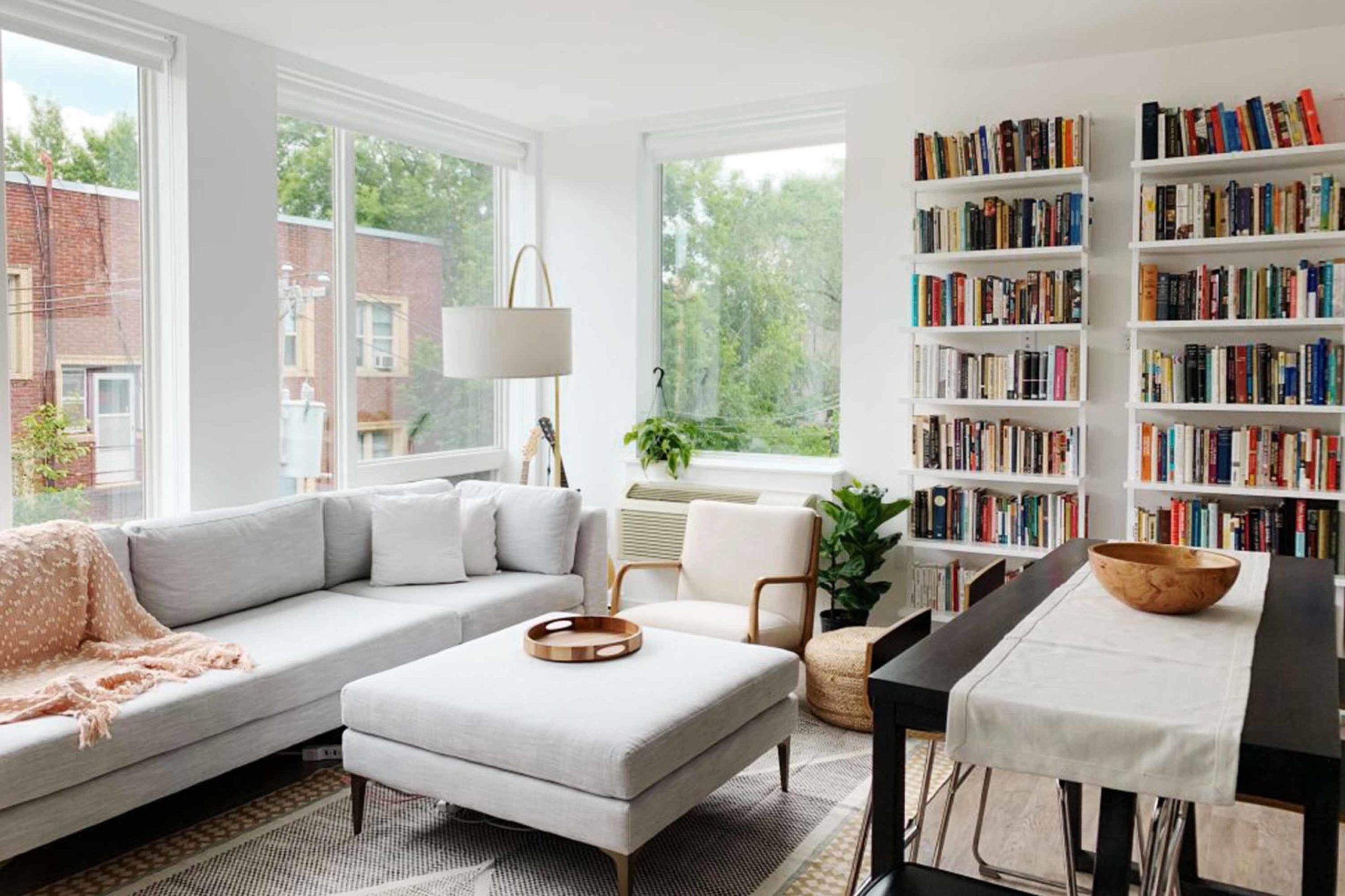 MODI Apartments Living Room in Downtown Minneapolis Minnesota