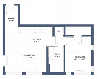 MODI Floor Plan Olympic